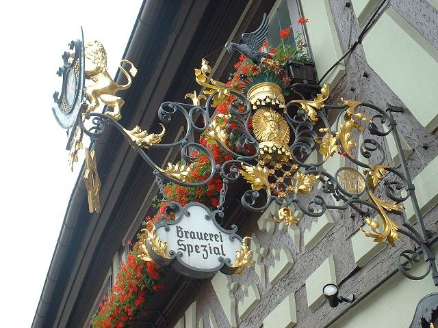 バンベルクホテル看板
