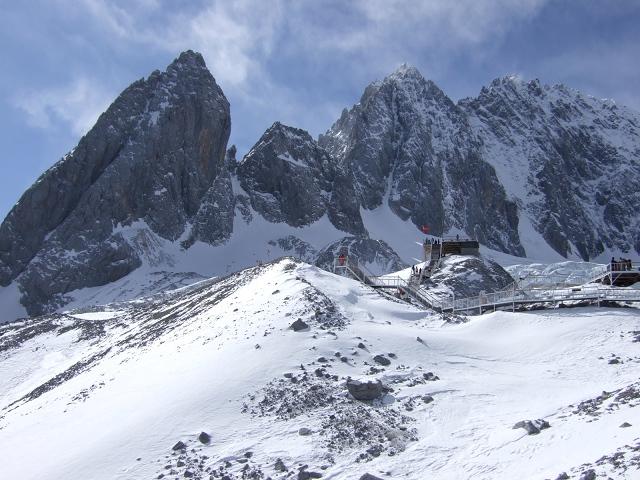 玉龍雪山頂上1