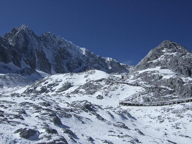 玉龍雪山頂上2