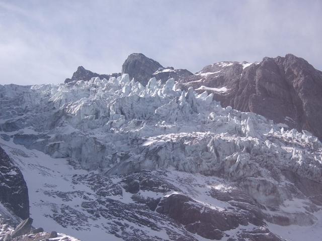 玉龍雪山氷河