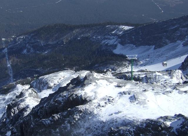 玉龍雪山ロープウェー