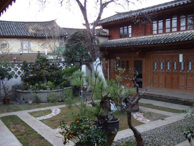 古道客桟中庭