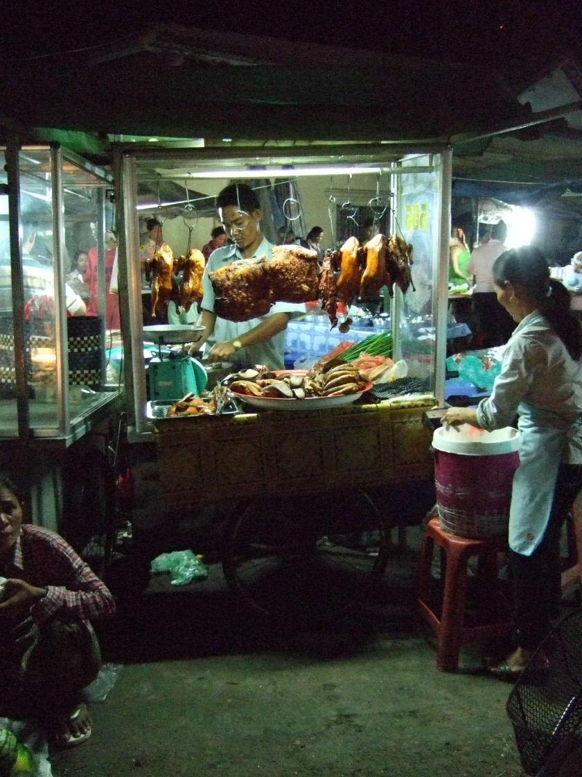屋台の肉屋