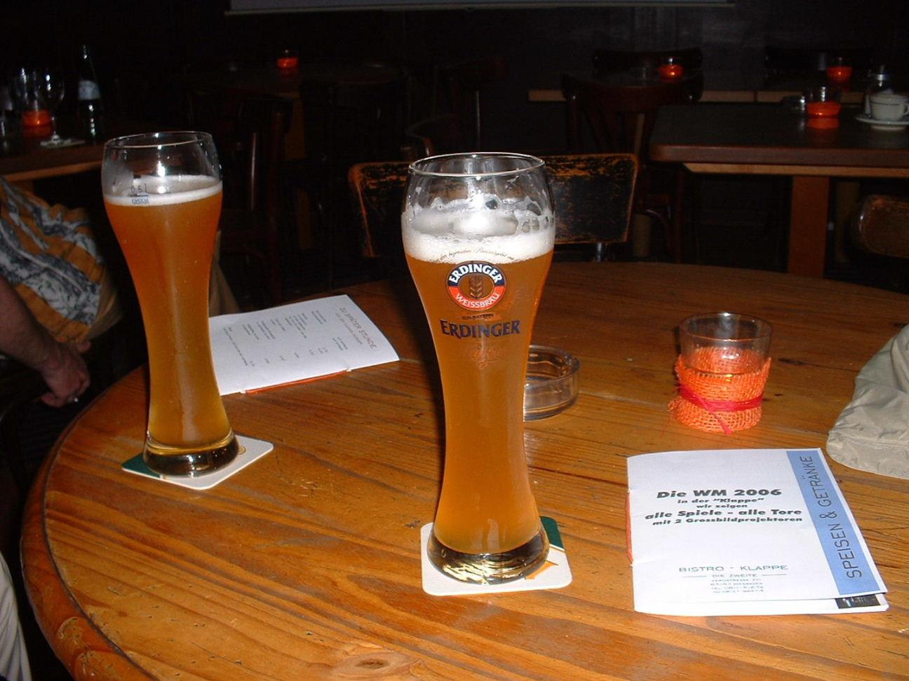 ヴィスバーデン締めのビール