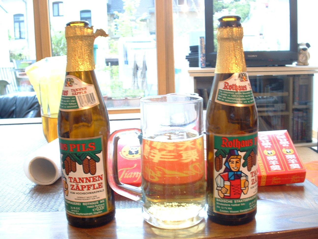 T家のビール