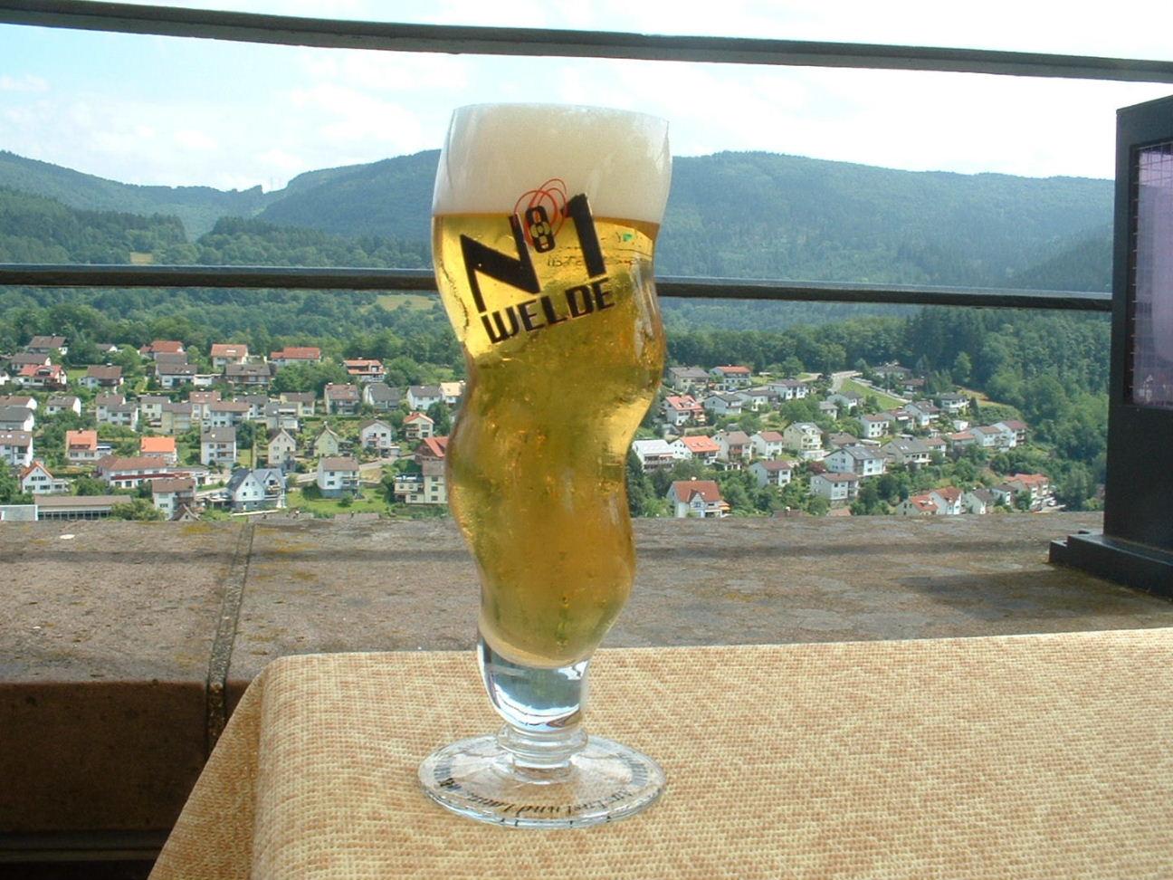 ヒルシュホルンのビール