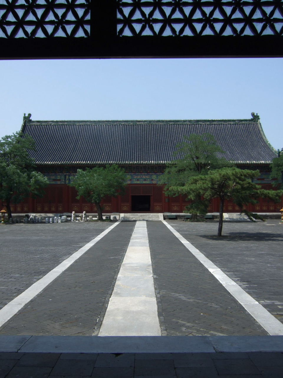 先農壇中庭