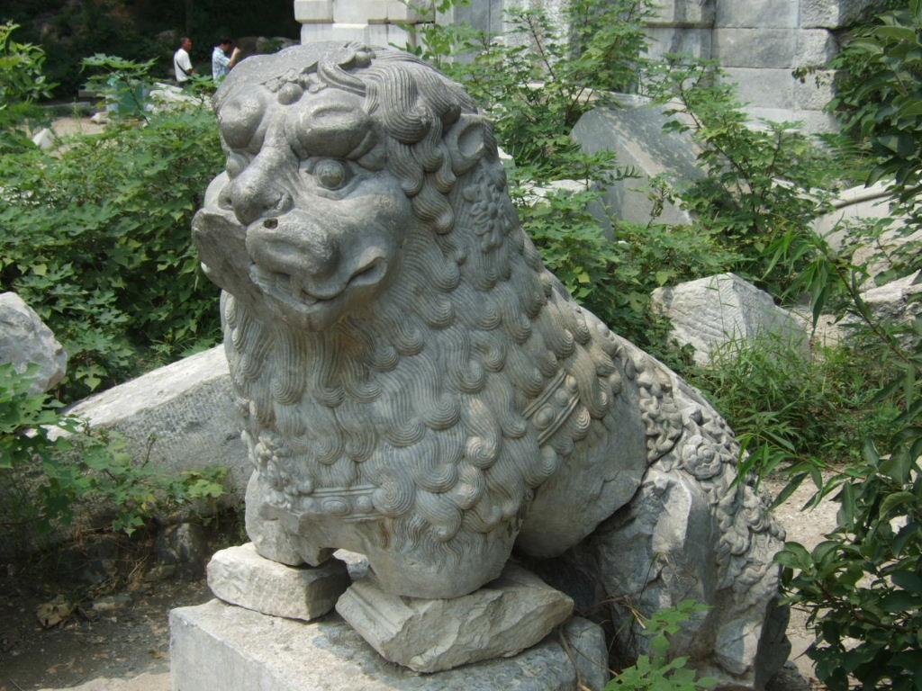 円明園獅子