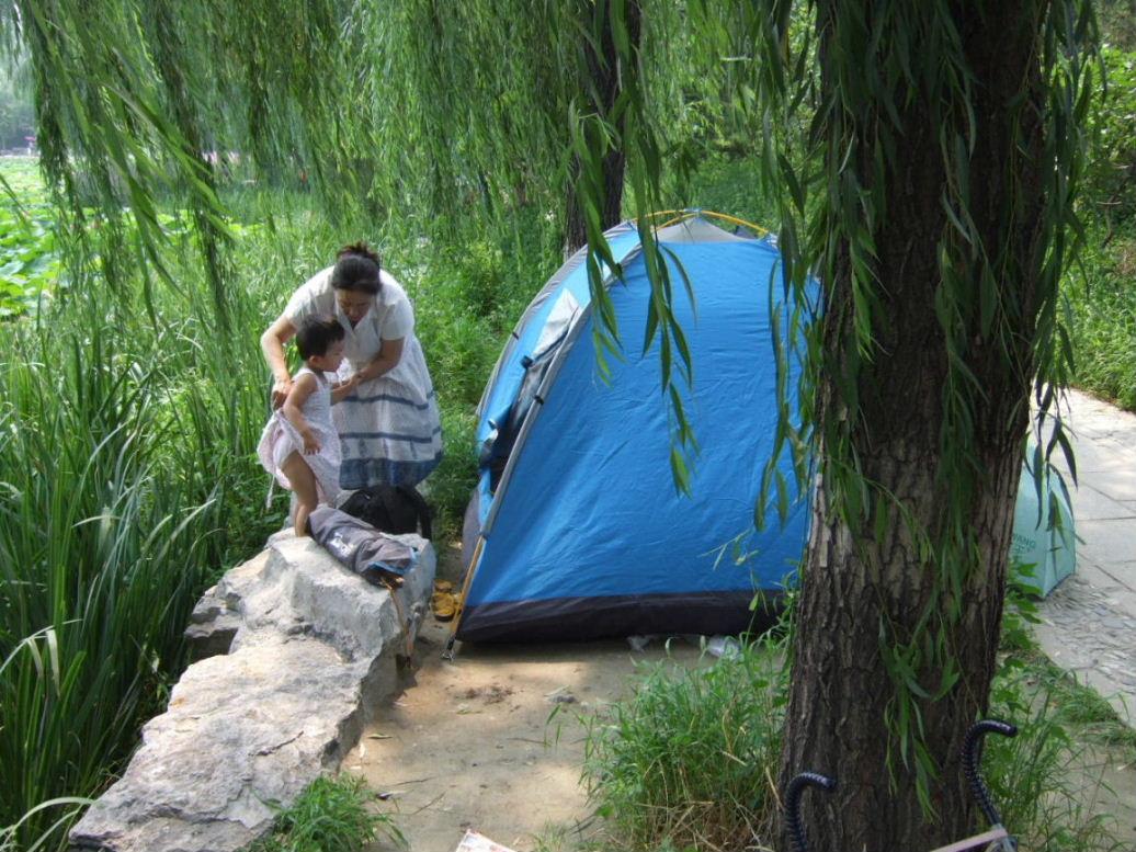 円明園テント
