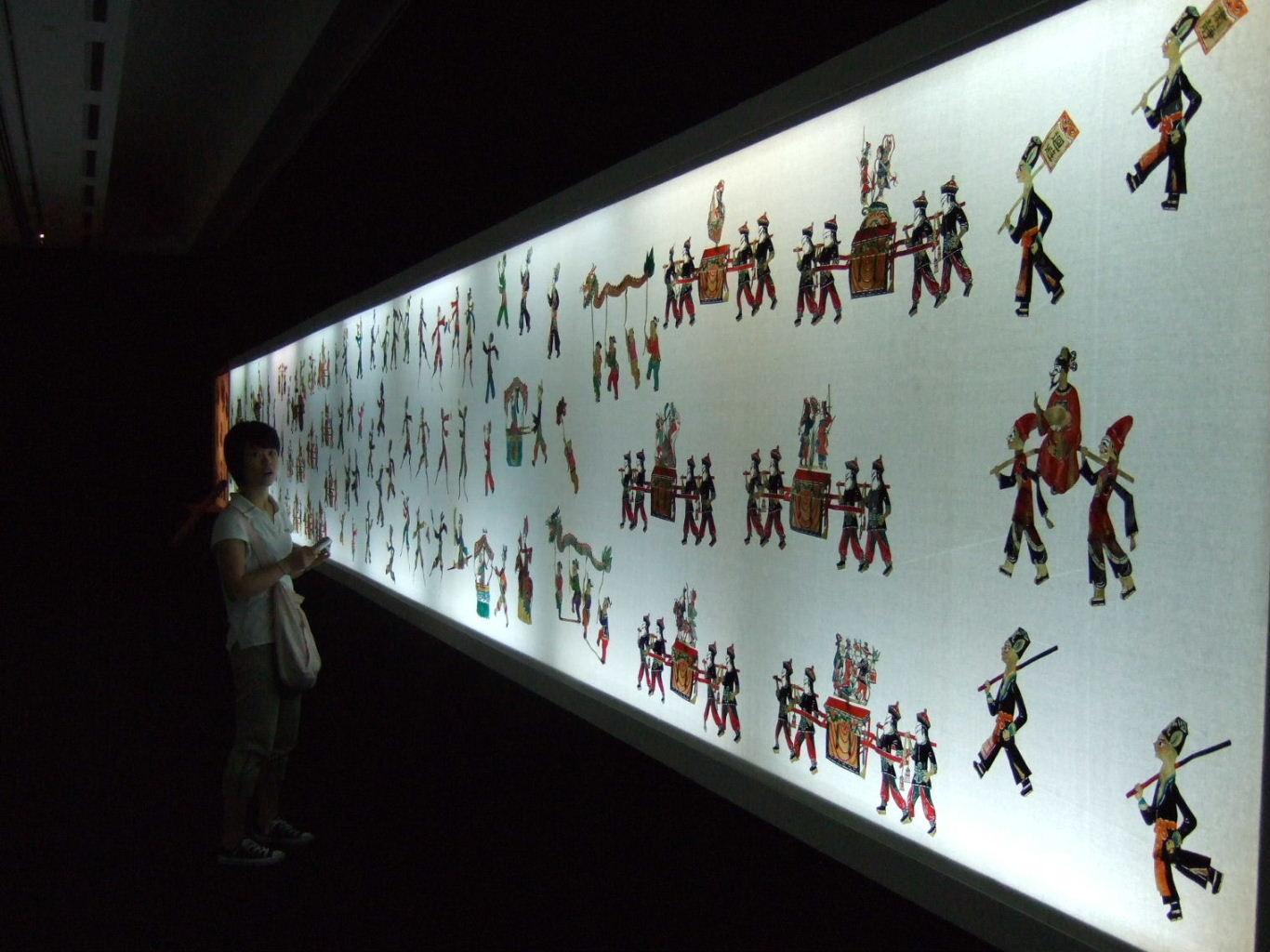 皮影戯北京大過会