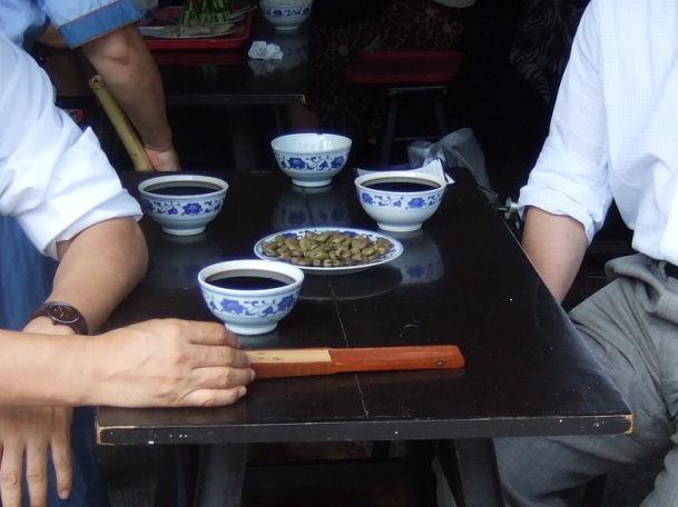 咸亨酒店酒と豆