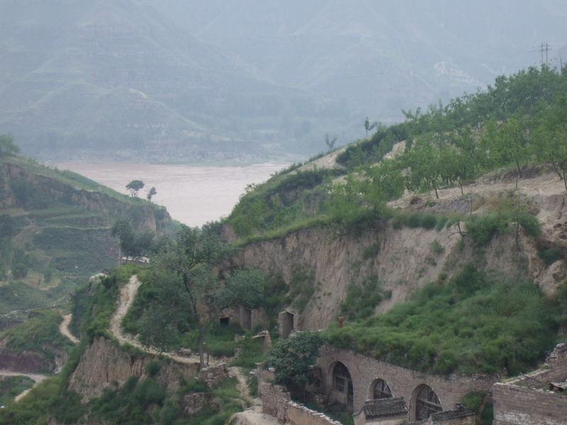 035李家山から黄河