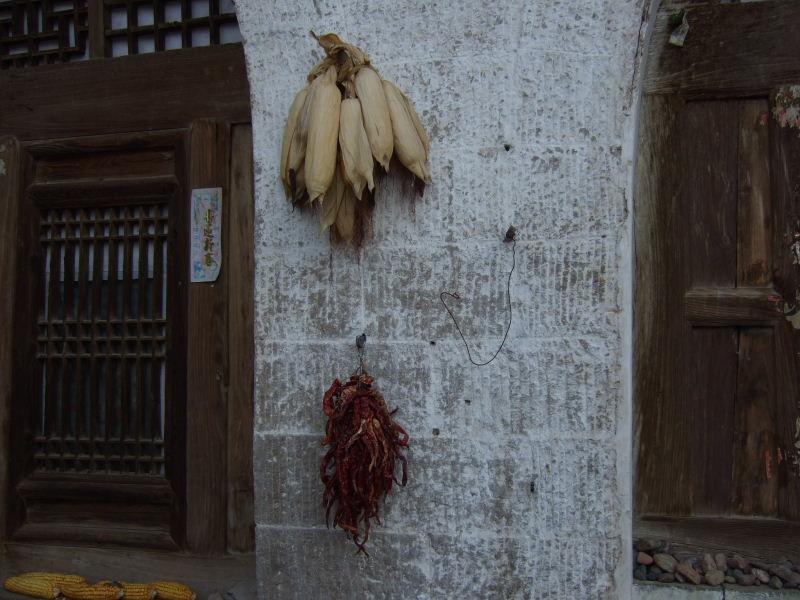 066李建新民宿玉米と辣椒