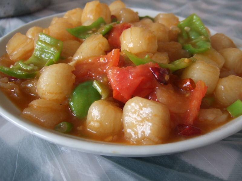 114麒麟農家楽の水晶麺