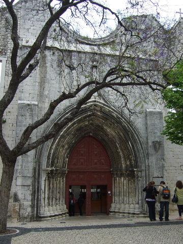 020Lisboaカルモ教会