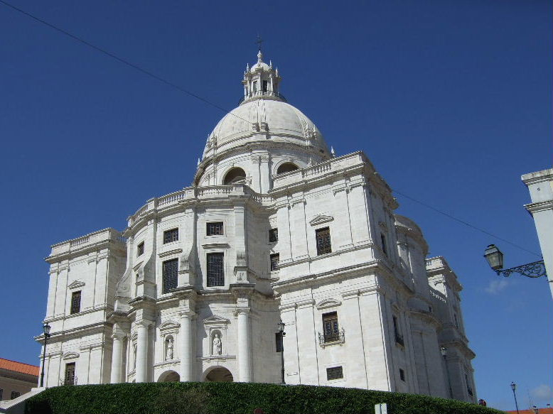 118Lisboaサンタ・エングラシア教会