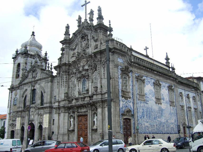 451Porto Carmo教会アズレージョ