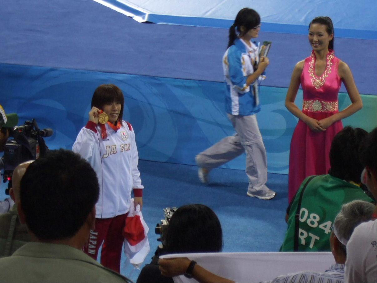 レスリング女55Kg(金メダル)