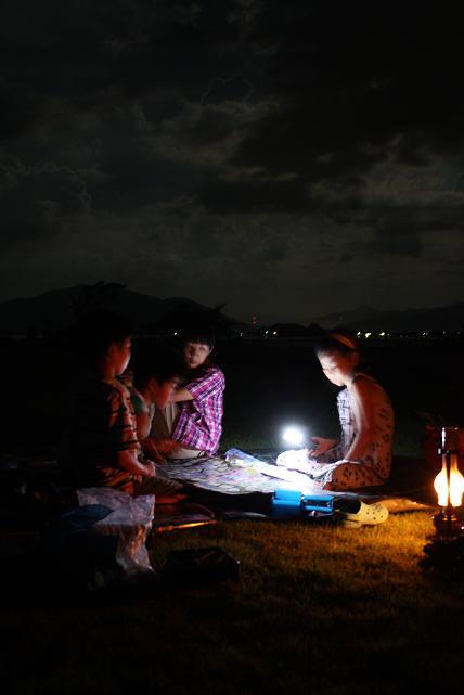 満月ピクニック