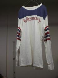 MEMORY フットボールTシャツ