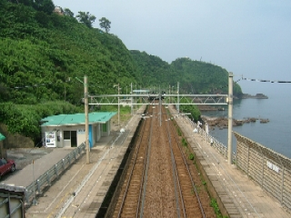 旧青海川駅
