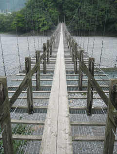 青部の吊橋(1)