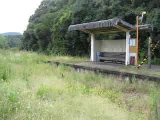 西相知駅(7b)