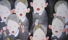 銅版画展Kちゃん2010