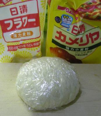手作り餃子!皮から作ります!2008.8.22
