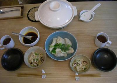 タコ飯と手作り餃子!2008.8.22