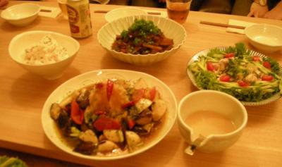 食を楽しみましょ!ホームパーティ!2008.8.25