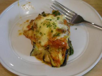 とろーりチーズ!茄子とトマトのグラタン!2008.8.25
