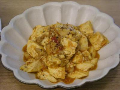 麻婆豆腐 2008.9.8