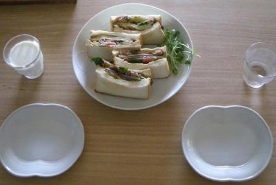 具がたっぷり!贅沢サンドイッチ!2008.9.12