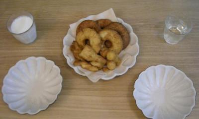 手作りドーナツ 2008.9.21