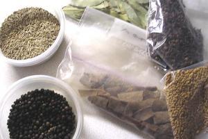 カレーを作ろう!固形香辛料 2009.1.18