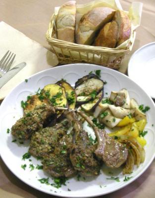 ラム肉、3つの味でお楽しみ。2008.12.28
