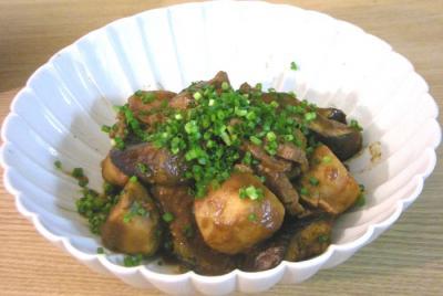 牛肉とサトイモの味噌煮 2009.1.14