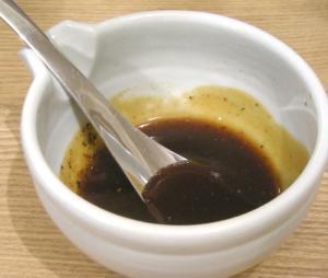 お好み焼き 特製のソース! 2009.1.15