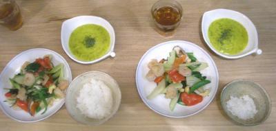 海老とセロリとカシューナッツ炒め 2009.1.20