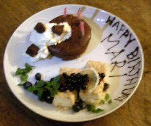 バースデーケーキ 2009.1.24