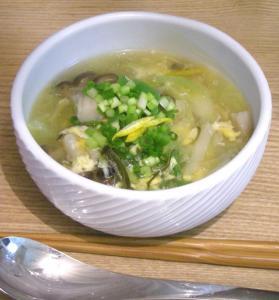 たまごスープでホッと。2009.1.28