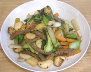 野菜いっぱいの和のごはん! 2009.2.8