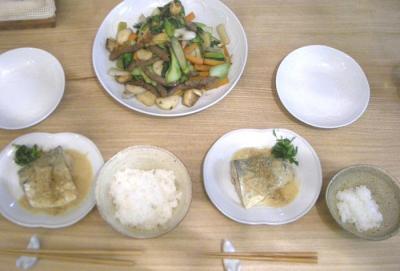 野菜いっぱいの和のごはん!