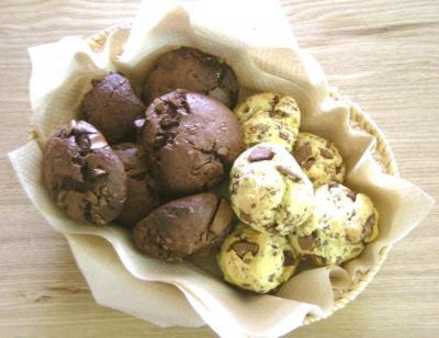 たっぷりチョコレートのバレンタインスコーン