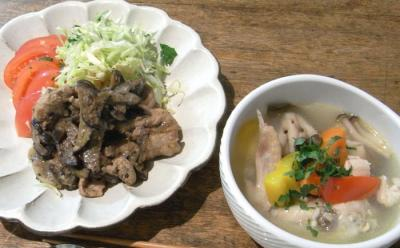 ひさしぶりの美味しいご飯 2009.3.11