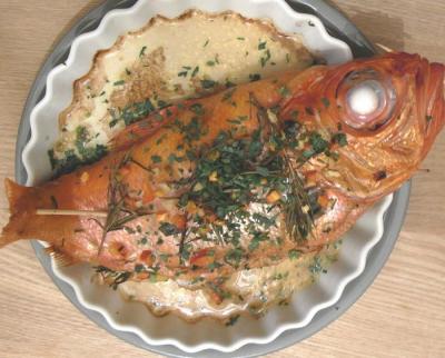 金目鯛のオーブン焼き 2009.3.29