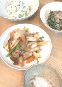 野菜酢豚 2009.4.3