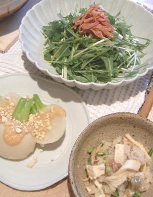 野菜たっぷり あさりごはん 2009.4.11
