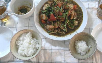 鶏ささみと鶏もも肉、南蛮漬け 2009.6.1